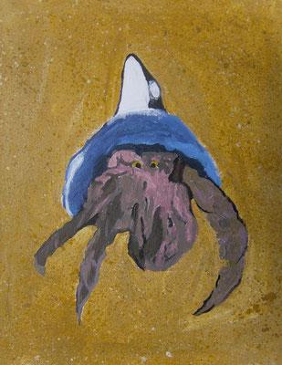 Hermit Crab, by Jakeem, age 10