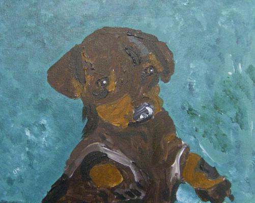 Puppy, by Asean'ee