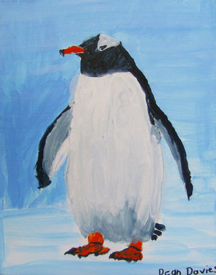 Penguin, by Dean, age 9