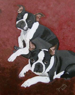 Duke & Harley, by Janette