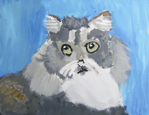 Cat, by Alyssa, age 10