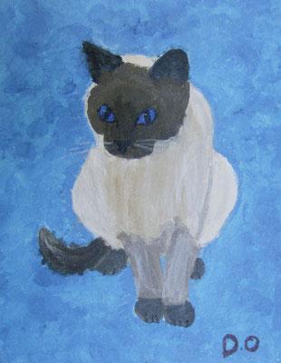 Cat, by Drew, age 10