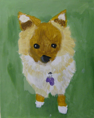 Dog, by Caylee, age 8