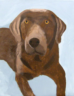 Dog, by Casey