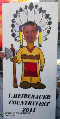 Ohne Worte  -  Teilnahme des Bergbau- Traditionsverein Hohwald e.V. am 1. Heidenauer Countryfest