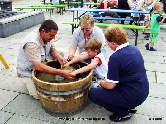 Teilnahme des Bergbau- Traditionsverein Hohwald e.V. am 1. Heidenauer Countryfest