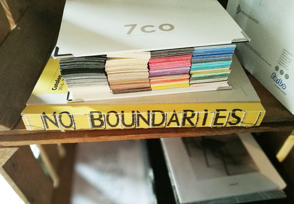 boek met titel no boundaries