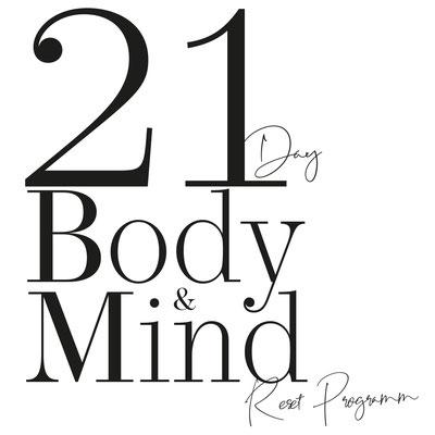 Anna Posch -  POSCHSTYLE - 21 Day Body & Mind Reset Program - Raster und Punkt - Grafikstudio Raster und Punkt - Johannes Loibenböck