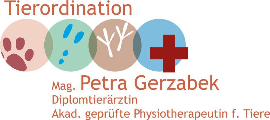 Tierordination Gerzabek - Logodesign - Grafikstudio Raster und Punkt