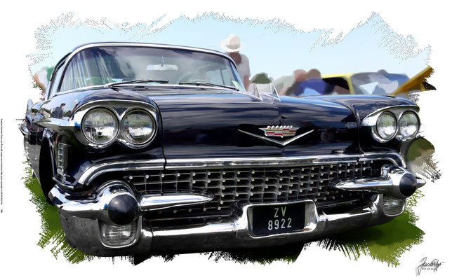 Cadillac Type 62, 1958, based on a photo by Mic who ölicensed it CC BY 2.0
