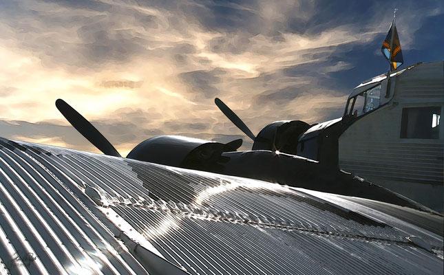 Ju-52, Morgendämmerung