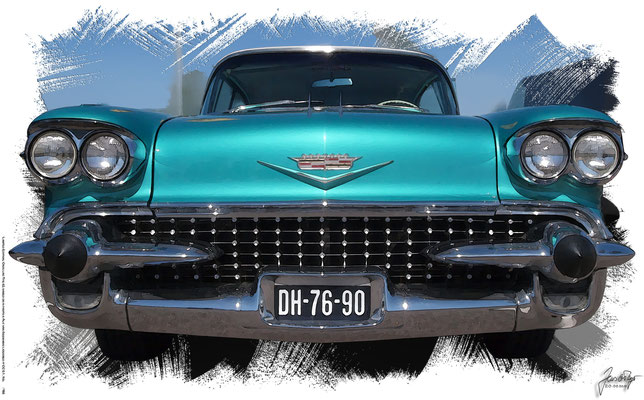 Cadillac Type 62 Sedan Deville 1959, based on a photo by Alf van Beem who licensed it CC BY 0.1