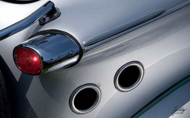 Messerschmitt Kabinenroller TG 500, Seitenansicht