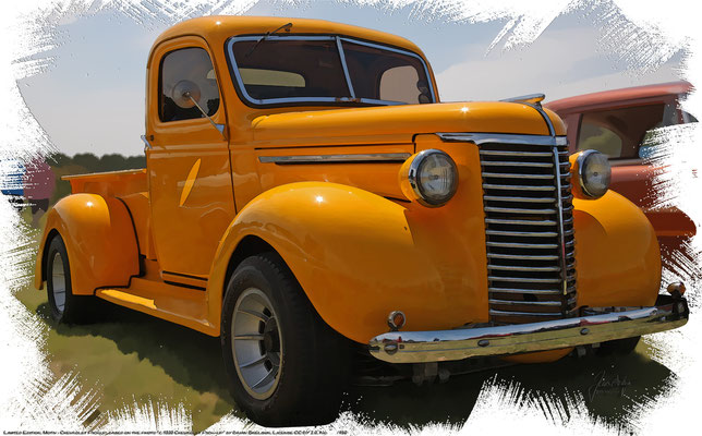"Chevrrolet Suburban Pickup from 1939, based on the Photo ""1939 Chevrolet Pick-up"" by Brian Snelson who licensed it CC BY 2.0"