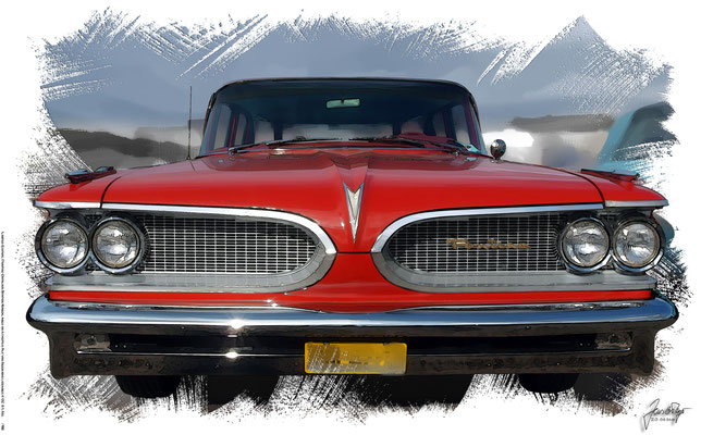 Pontiac Catalina Station Wagon, based on a photo by Alf van Beem who licensed it CC 0.1