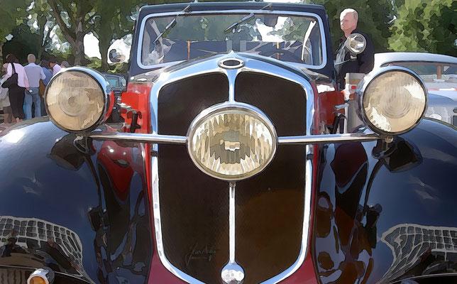 Lloyd Hansa 1100, 1937, Front