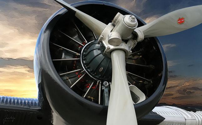 Ju-52, Triebwerk