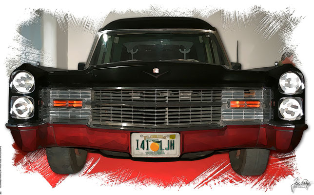 Chevrolet Funeral Wagon,  licensed to VectoriX by Jason Jacob