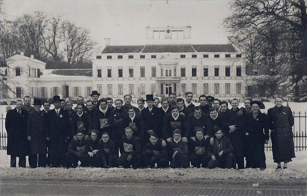 Estafetteloop Geleen-Paleis Soestdijk (19-2-1947)