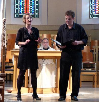 Diane Eisenhawer, Sopran im Duett mit Tenor Ulrich Ophoven
