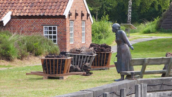 Von-Velen-Anlage mit Freilichtmuseum:  Zeigt anschaulich die Lebensbedingungen der Einwohner in früherer Zeit.