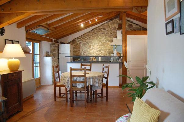 Trapa- Appartement T2 en location de vacances au pays basque - Sare