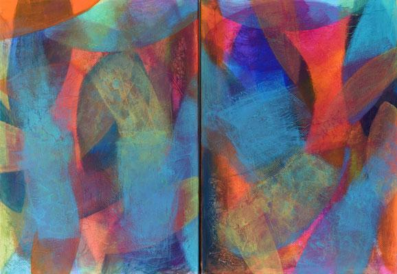 Acryl auf Leinwand 100x70