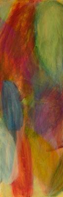 Acryl auf Leinwand 40x120
