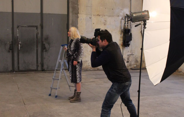 """Hinter den Kulissen """"Fotoshooting"""""""