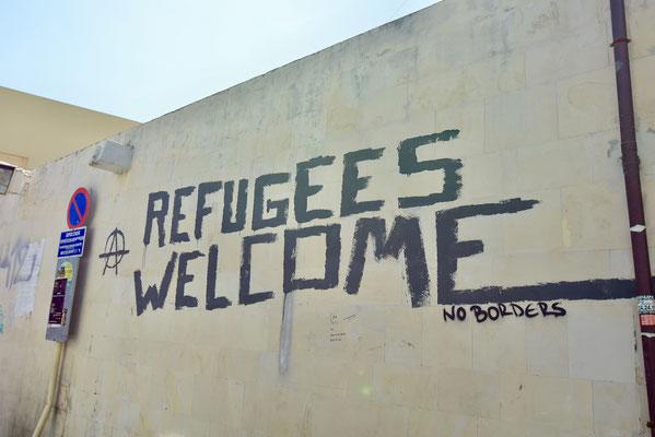 トルコや北アフリカにより近いため、外国人の侵入は耐えずあったクレタ島(イラクリオン市内)