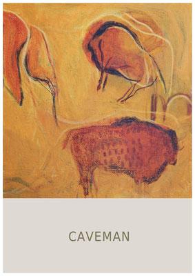 caveman - Acryl auf Leinwand, 100 x 70 cm, 2020