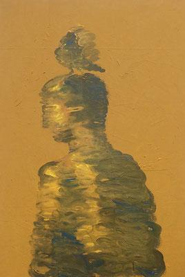 Der Selbstmitleidige - Acryl auf Leinwand - 70 x 120 cm