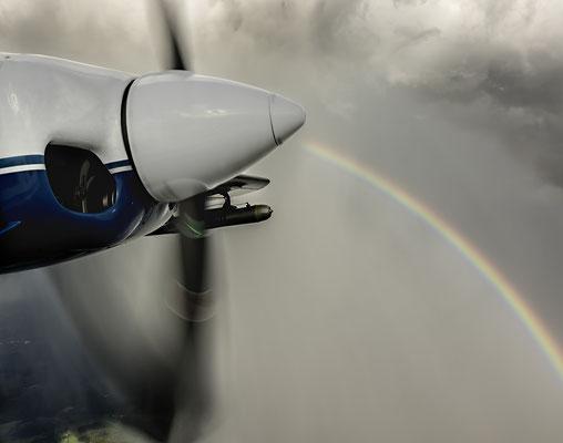 Regenbogen aus Spinner