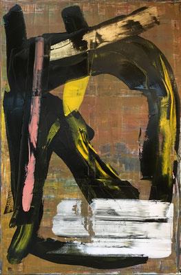 otome (100 x 150 cm - acrylic on canvas - 2018)