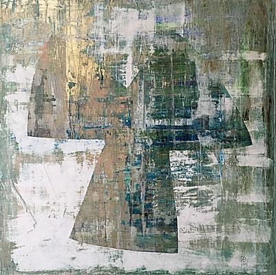 kimidori (100 x 100 - acrylic on canvas - 2017)