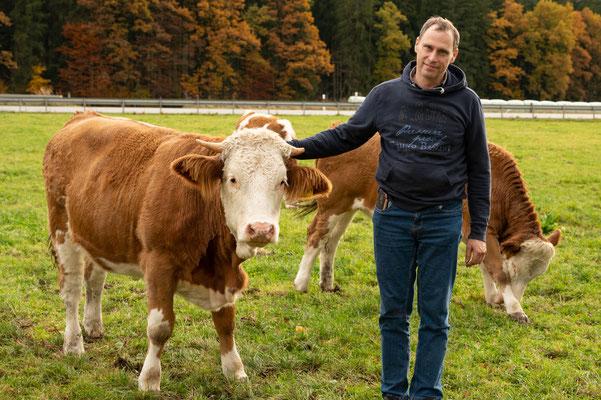 Josef Weingand ist Manager der Homepage Biokalb Oberland