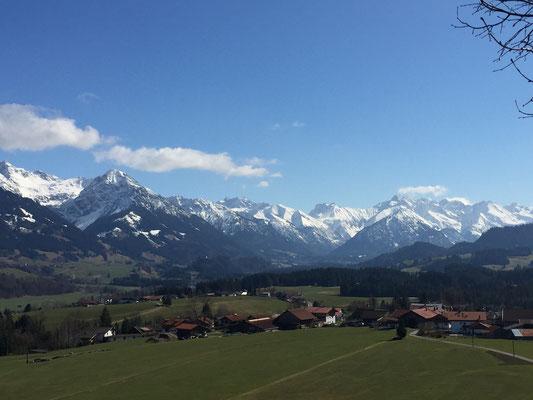 Blick von Wittelsbacherhöhe