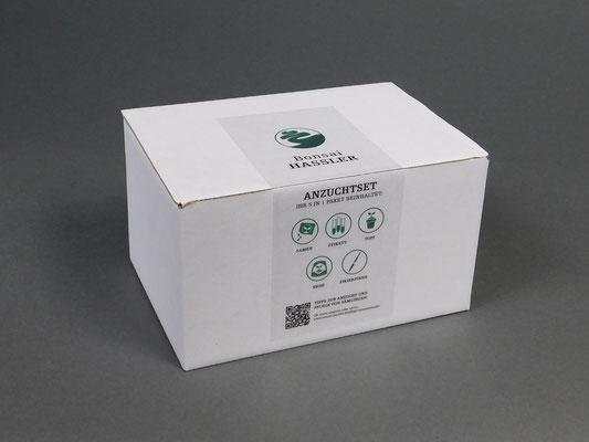 Verpackung Anzuchtset