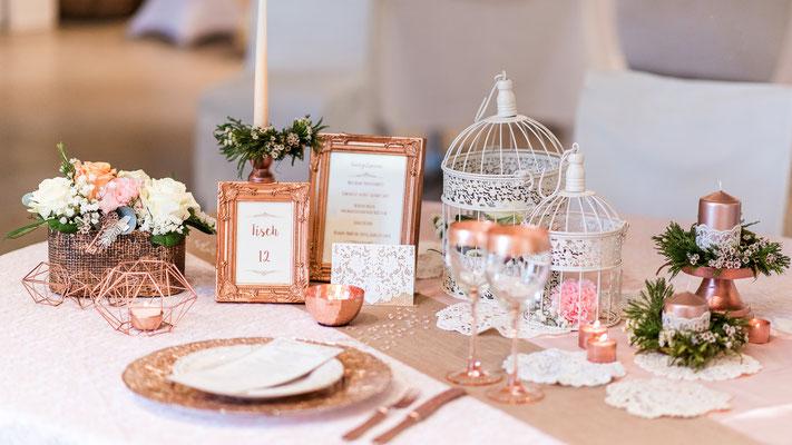 """Eindrücke aus unserem Styledshoot zum Thema """"Hochzeit in rosé"""" #vintage #urban"""