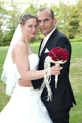 Das glückliche Brautpaar