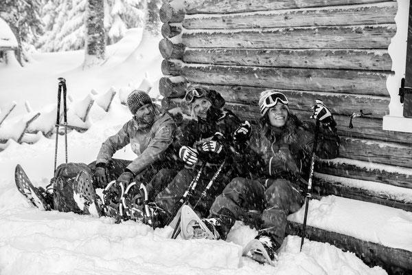 Auf Schneeschuhen am Kristberg 4