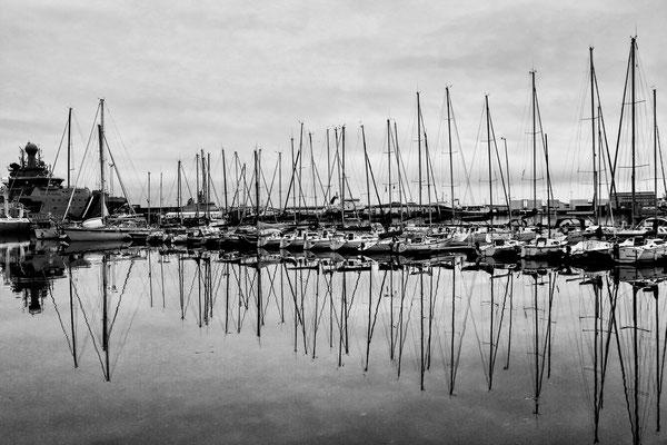 Hafen von Reykjavik Island