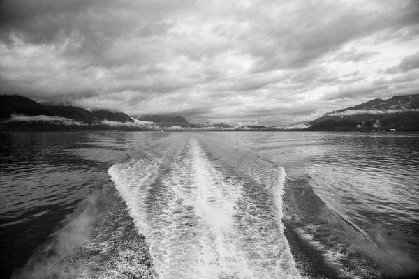Bootstrip zu den Gletschern