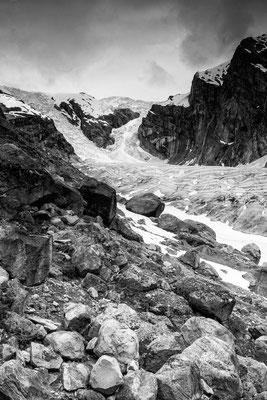 Gletscher am Rand des Lysefjord