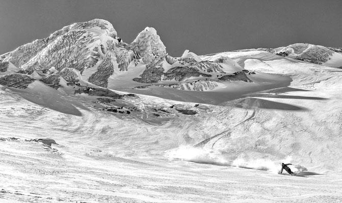 Ochsentaler Gletscher Piz Buin Österreich