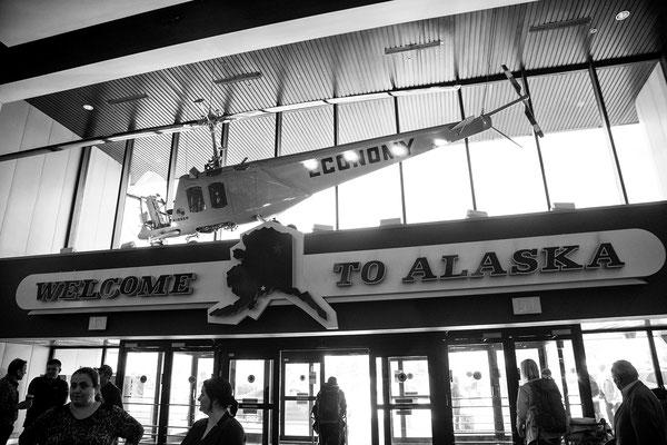Flughafen von Anchorage