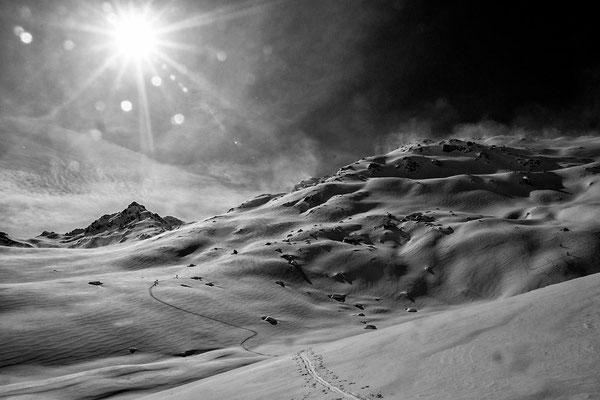 Big Mountaintouring - im Hintergrund die Rotbühlspitze