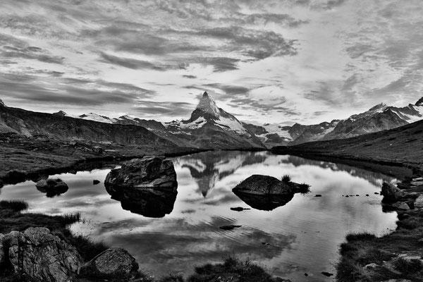 Stellisee und Matterhorn 1