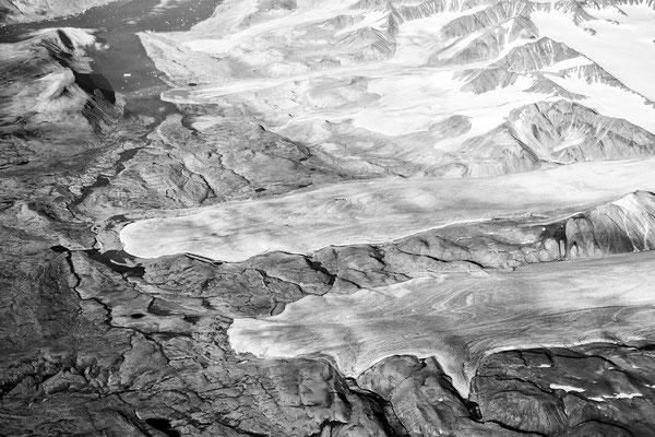 Über Grönland - 2