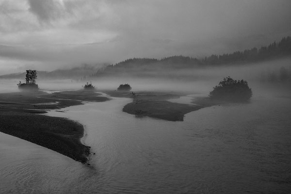 Flussbett vor Valdez